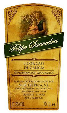 """Licor Café de Galicia (D.O.) premiado con medalla de Oro en el concurso Internacional """"Albariños al Mundo"""" 2014, Bruselas. #orujo #liqueur"""