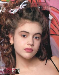 Alyssa Milano Young, Alisa Milano, Girly Girl Outfits, Shannen Doherty, Swift Photo, In Pantyhose, Big Hair, American, Actors & Actresses