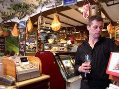 Our favorite waiter, Michael, at La Marche