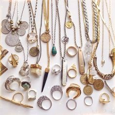 Gorgeous jewelry collection