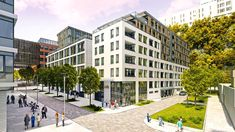 Zuckermandel mixed-use development Residential block Cy