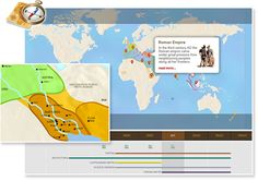 Enter the TimeMap of World History