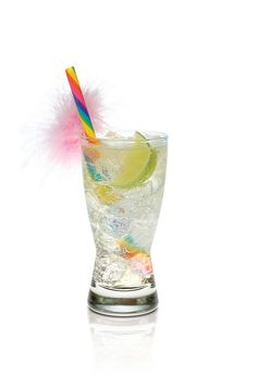 Lady Bunny    2 oz SKYY Infusions Coconut  Top with soda water  Garnish with a lime    Combine ingredients over ice. Garnish with lime wedge.