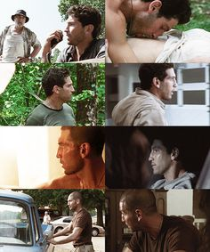 Shane Walsh sexy as hell with his head shaved!!