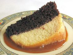 This is easy and Great for the not so overly Flan lovers its a cross between cheesecake and Flan