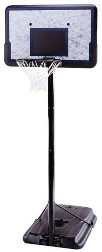 bd1cb76799a9 Lifetime 1221 Height-Adjustable Basketball System With 44-Inch Backboard  for sale online