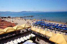 Il #golfo di #follonica. Splendida visuale dal nostro #hotel in #toscana