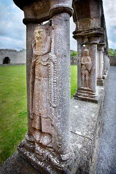 Jerpoint abbey Kilkenny, Ireland