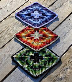 Square Nomad Free Crochet Pattern | Free Crochet Patterns
