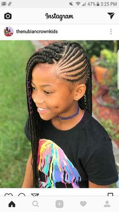 Medium Hairstyles For Girls, Black Kids Hairstyles, Kids Braided Hairstyles, Girl Haircuts, Box Braids Hairstyles, Choppy Hairstyles, Teenage Hairstyles, Natural Hairstyles For Kids, Holiday Hairstyles