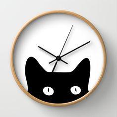 Black Cat Wall Clock                                                                                                                                                                                 More