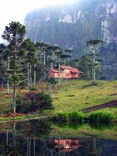 Estalagem Vila da Montanha,  estado de Santa Catarina, Brasil.