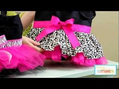 TUTU TOTE TRIO BY SUGAR PIE CHIC | Sewing Pattern | Sewing Videos | YouCanMakeThis.com