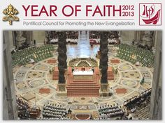 Post on your profile on the social networks the words and the happenings of the Year of faith with the Holy Father Benedict XVI! Every page of this site allows you the ability to share with your friends the particular pages that you like. Sharing this information with your friends is another way to participate in the new evangelization.