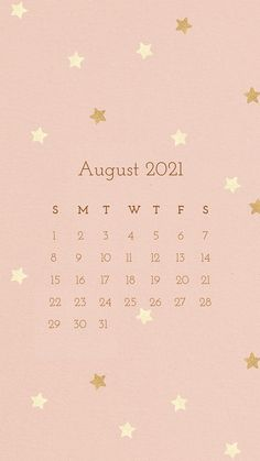 Download premium illustration of Calendar 2021 August editable template