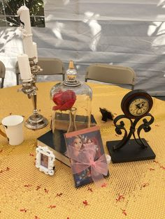 Beauty and The Beast Center Piece do it yourself