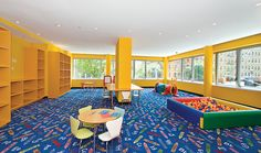 Children's play room at Azure! Schedule your play date ;)