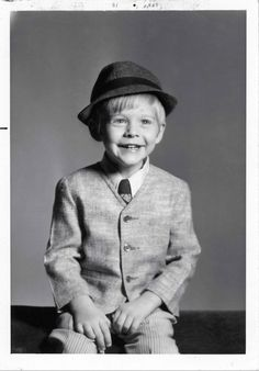 A three years old Kurt Cobain