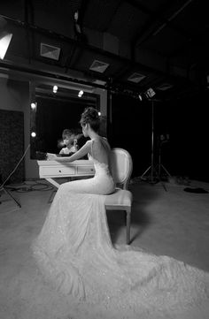 Another view of an amazing dress - Inbal Dror