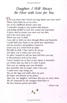 The 25 best Poem for my daughter - Single Mom Quotes From Daughter - Ideas of Single Mom Quotes From Daughter - The 25 best Poem for my daughter Letter To My Daughter, Mom Quotes From Daughter, I Love My Daughter, Love My Kids, Mother Daughter Poems, Beautiful Daughter Quotes, Quotes About Mothers Love, Daughter Graduation Quotes, Happy Birthday Daughter From Mom