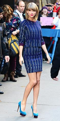 70 Reasons Why Taylor Swift Is a Street Style Pro - October 27, 2014 from #InStyle