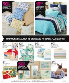 Bealls Florida Black Friday 2017 Ads and Deals Browse huge deals and savings as part of the Bealls Florida Black Friday 2017 sale. Find the cheapest prices of the year on everything from fashion fo. Black Friday 2017 Ads, Cotton Throws, Coastal Homes, Coupons, Plush, Florida, Blanket, Pillows, Fashion