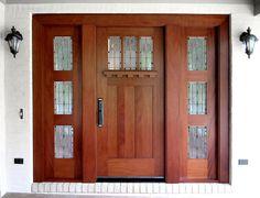 Craftsman Doors traditional front doors