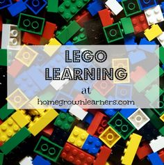 LEGO Printables and Downloads @ Homegrown Learners