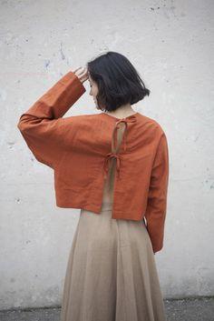 Burt orange, whisper light fabrics - oroboro store / focus..damn it! : Photo