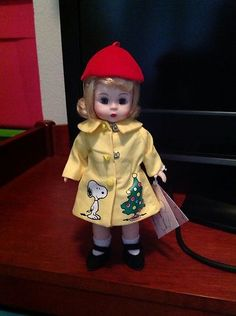 Madame Alexander Doll 8 inch Peanuts Christmas Wendy image #2