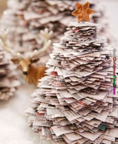 Old News Paper Tree