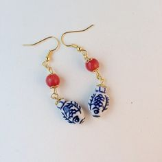 Check out this item in my Etsy shop https://www.etsy.com/listing/488189019/ceramic-fish-bead-earrings-pisces