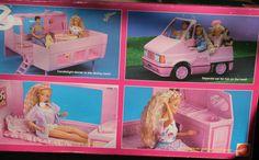 1989 Barbie Magic Van
