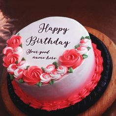 Do You Want To Surprise Husband Birthday Cake With Name Unique Way Wish