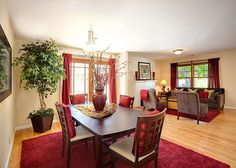 living/dining room design