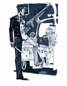 Harvey Dent/Two-Face, by Eric Canete Comic Book Artists, Comic Artist, Comic Books Art, Anton, Gotham Villains, Vigilante, Talia Al Ghul, I Am Batman, Batman Stuff