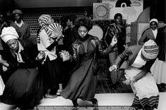 Girls Dancing in Wolverhampton Club, 1978 by Chris Steele-Perkins