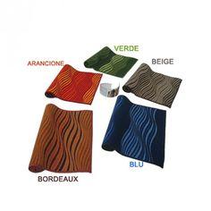 #carillolist http://www.carillobiancheria.it/tappeto-passatoia-arredo-classico-moderno-50x100-cm-cucina-camera-5-colori-e668-14588.html