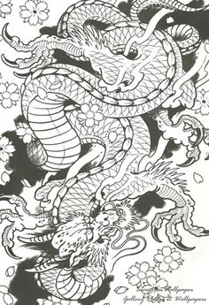 Chinese Dragon Tattoo By Risachantag | Tattoo Designs and Tattoo Ideas