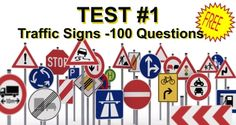 Kansas DMV Driver Practice Tests |Road Signs| Free Permit Exams Online
