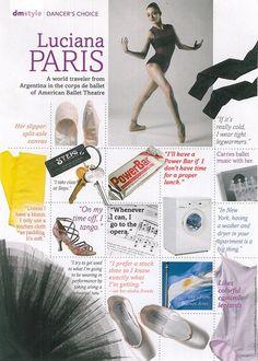 ABT's Luciana Paris' Favorite Things