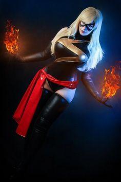 Ms. Marvel Cosplay by K-A-N-A.deviantart.com on @deviantART