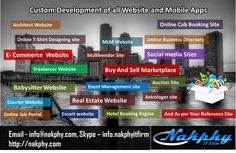 Build your #website   without worries, Hire #nakphyITFirm   and leave your worry to #Nakphy   , you can also #Hire   us as #Dedicateddeveloper   , get High end #Webdevelopment   and #Mobileapps   #ContactUs   #Today   #Ecommerce   #BuyandSell   #Realestate   #online   #Hotelsite   #php   #android   #MLMWebsite   #Cabbooking   #Site