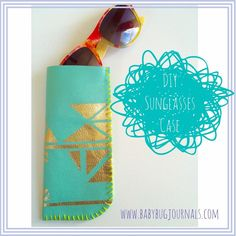DIY Leather Sunglasses Case Crafts For Kids To Make, Diy Projects To Try, Sewing Projects, Diy Leather Goods, Dyi Crafts, Mother Day Gifts, Diy Tutorial, Diy Gifts, Sunglasses Case