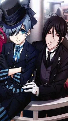 Anime/Black butler wallpaper id: 651192 - mobile abyss Sebastian X Ciel, Black Butler Sebastian, Black Butler Ciel, Black Butler Kuroshitsuji, Black Butler Wallpaper, Manga Anime, Manga Girl, Anime Girls, Book Of Circus