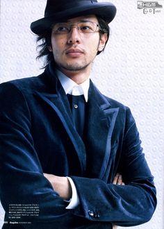 Odagiri joe seems nice with  those outfit!