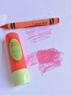 Cosme-Haul: Review: Pixi Shea Butter Lip Balm (Shade:Coral Crush)