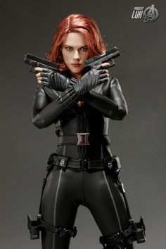 Oh No They Didn't! - MARVEL'S THE AVENGERS: New Promo Images Of Hot Toys' 'Black Widow' Collectible Figure