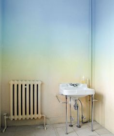Ombre wall paint ideas 3
