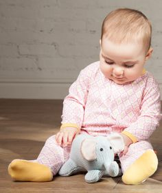 I like my Morocco footie, and Ellie the Elephant likes it too!